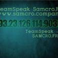 our small fine friendly TeamSpeak make a visit! 193.23.126.114:9030 0SaschaSascha Contributor [ Samcro.Fr ] Location: More Posts - Website Follow Me:SaschaSascha Contributor […]